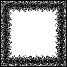 Pleated Lace Border