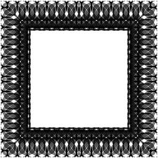 Sculpted Frame