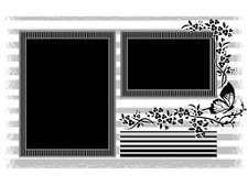 Double Floral Grungeframe 4