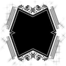fancy-stencilled-frame1